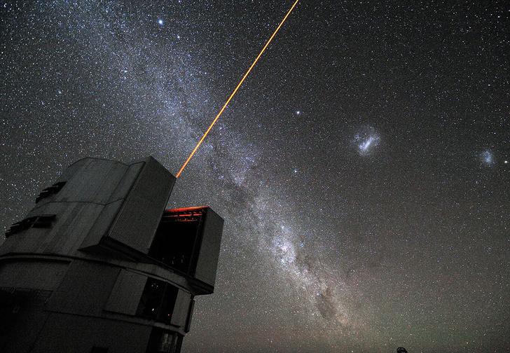 Фото №1 - Ученые впервые сфотографировали две планеты, вращающиеся вокруг солнцеподобной звезды