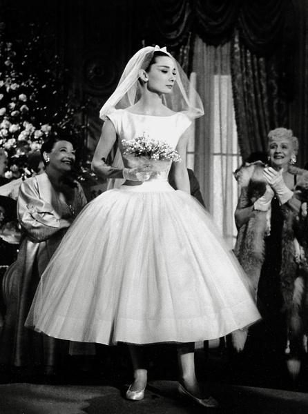 Из фильма «Забавная мордашка», 1957 год.