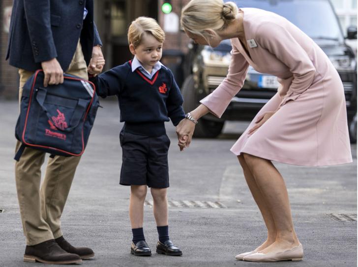 Фото №3 - Почему Джорджу и Шарлотте запрещено иметь лучших друзей в школе