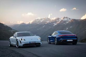 Фото №4 - Porsche впервые официально показал свой первый электроспорткар Taycan (фото)