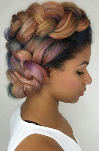 Фото №18 - Бьюти-тренд: разноцветные волосы