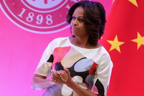 Carolina Herrera, Мишель Обама (Michelle Obama), Китай
