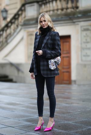 Фото №10 - С чем носить джинсы скинни сегодня: модные советы и удачные сочетания