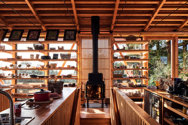 Фото №6 - Красный дом для барбекю в Чили