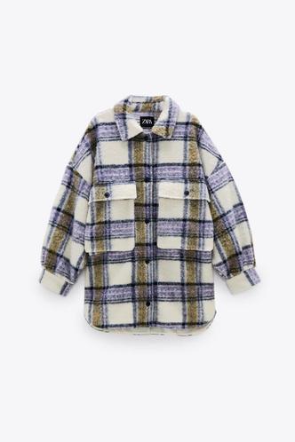 Фото №10 - Где купить точно такую же куртку-рубашку, как у Лили Коллинз, и еще 4 похожие альтернативы