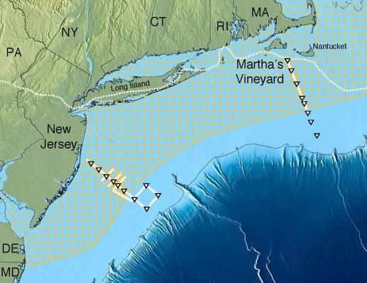 Фото №1 - Под Атлантикой обнаружен слой пресной воды