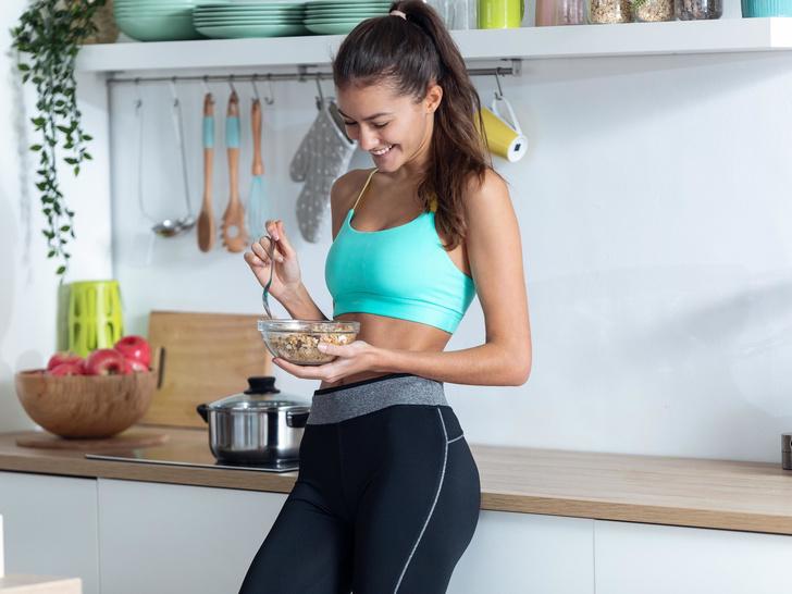 Фото №2 - Сушка тела в домашних условиях: пошаговая инструкцияот питания до тренировок