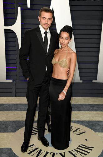 Фото №7 - Самые стильные звездные пары на вечеринке Vanity Fair-2019