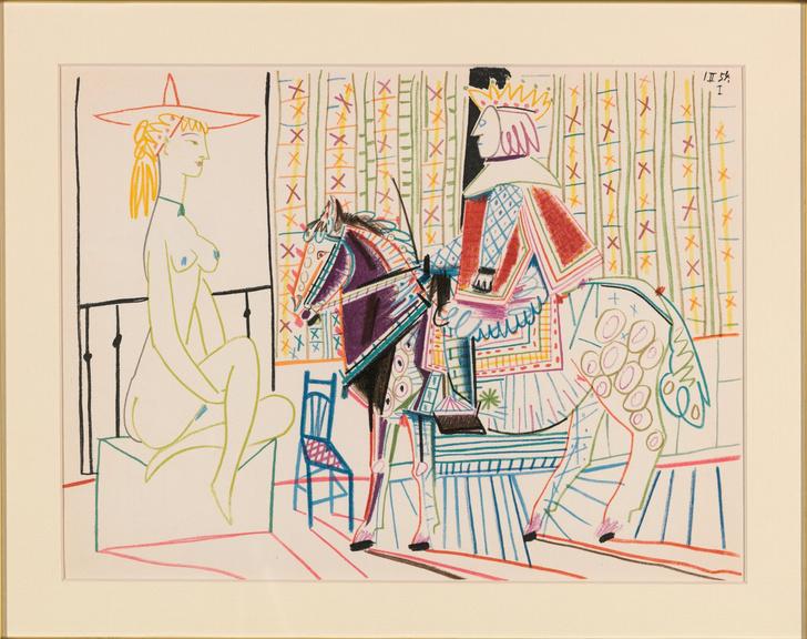 Фото №1 - Работы Пикассо, Шагала и Церетели на выставке в Москве