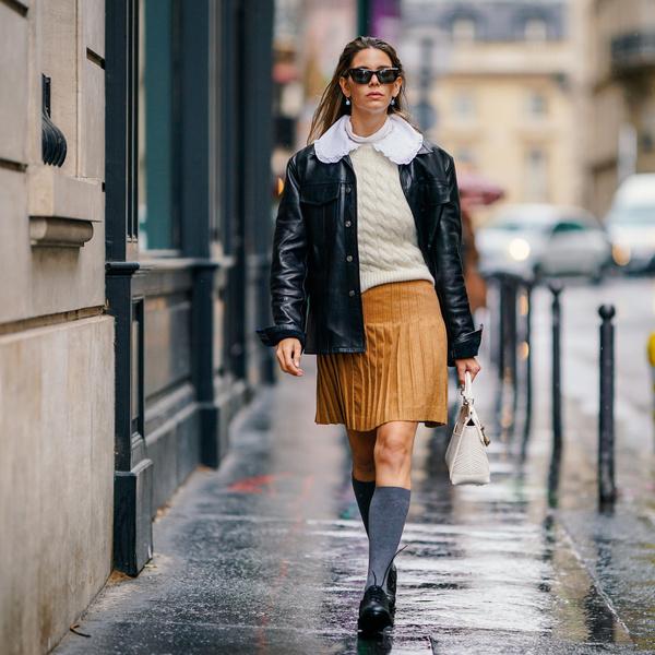 Фото №1 - Самые модные юбки на осень, которые не стыдно носить в школу