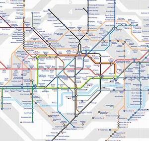 Фото №1 - Лондонское метро переместилось в воздух