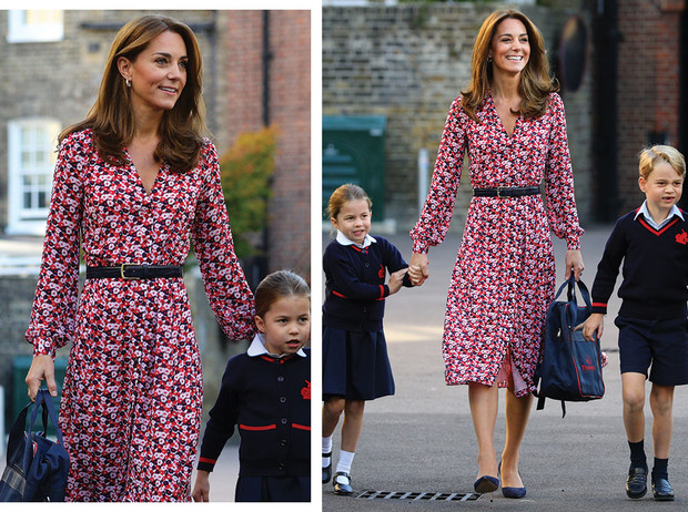 Фото №1 - Изящно и стильно: 15 платьев с цветочным принтом, как у герцогини Кейт