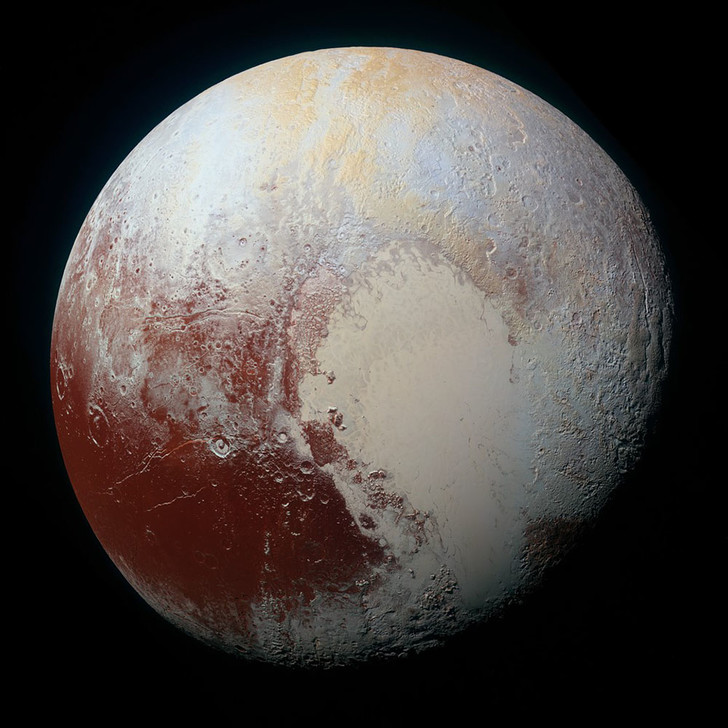 Снимок Плутона New Horizons