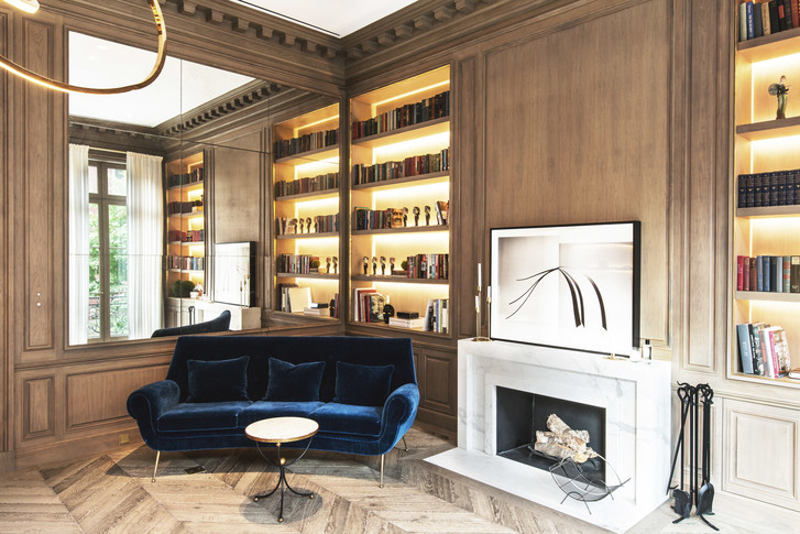 Фото №12 - Апартаменты с парижской атмосферой в Нью-Йорке