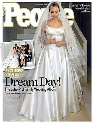 Фото №4 - Итоги-2014: самые громкие звездные свадьбы