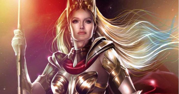 Фото №1 - Первые фото Анджелины Джоли в роли супергероини в «Вечных»