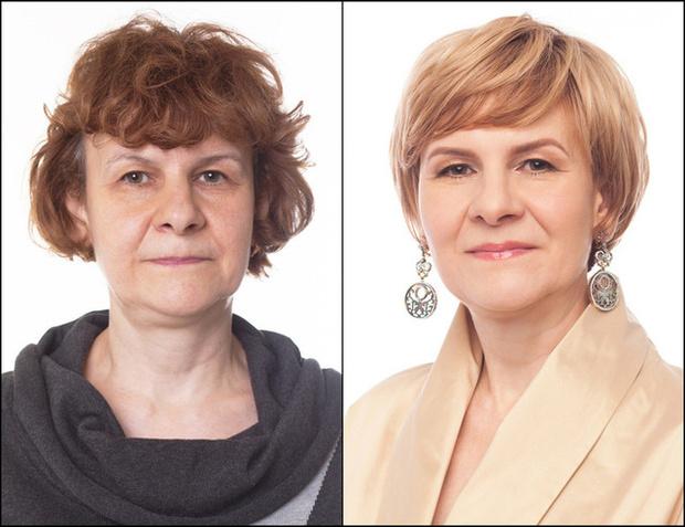 как прическа и макияж меняет внешность женщины фото до и после
