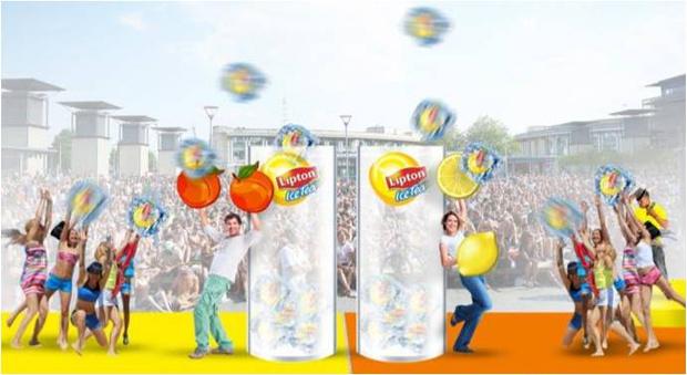Фото №2 - Lipton Ice Tea представит инсталляцию игры Cool Cubes