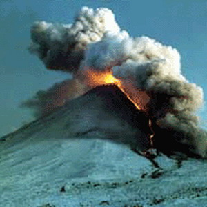 Фото №1 - Извержение на Камчатке