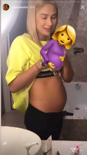Фото №1 - Наталья Рудова подтвердила слухи о беременности (а потом их опровергла)