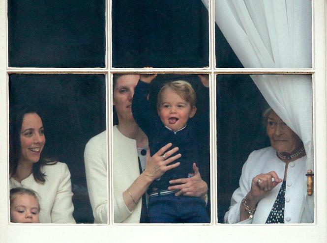 Фото №30 - Принц Джордж Кембриджский: три года в фотографиях