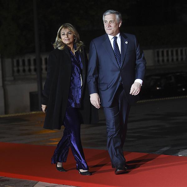 Фото №32 - Боги политического Олимпа: президенты и их жены на званом ужине в Париже