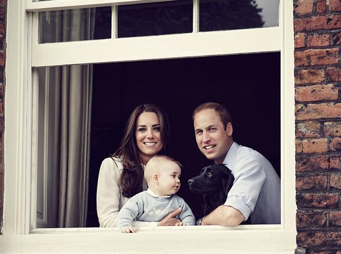 Фото №8 - Принц Джордж Кембриджский: три года в фотографиях