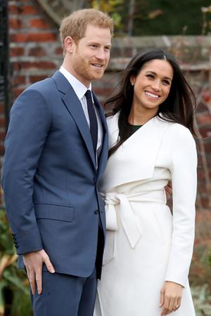 Принц Гарри и Меган Маркл выглядят счастливыми