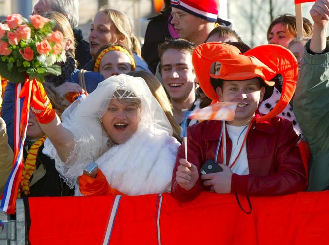 Фото №64 - Самые забавные моменты на королевских свадьбах (истории в фотографиях)