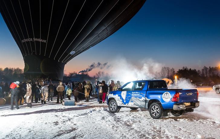 Фото №3 - Федор Конюхов и Toyota Hilux: один полет, два путешественника, три рекорда