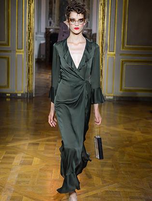 Фото №21 - Неделя Высокой моды в Париже: Ulyana Sergeenko Couture F2015
