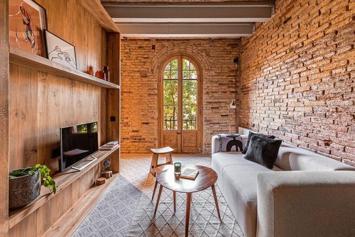 Фото №2 - Квартира со сводчатым потолком в Барселоне
