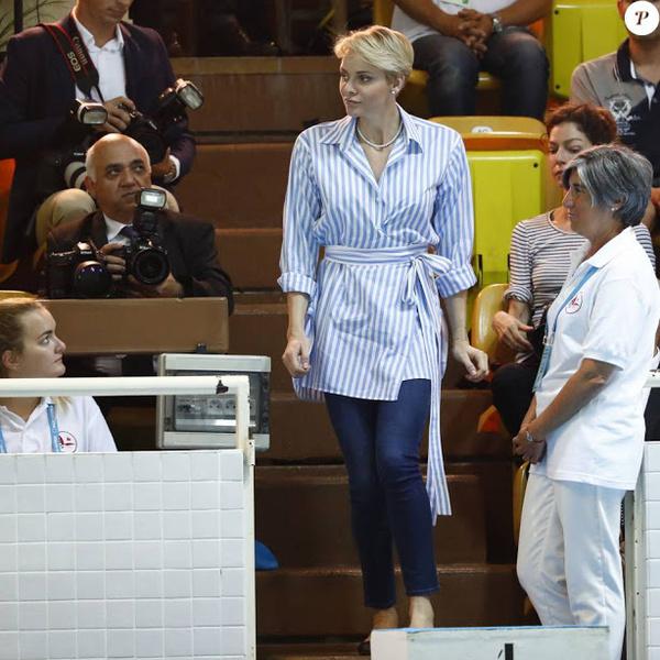 Фото №3 - Как княгиня Монако Шарлен провела июнь