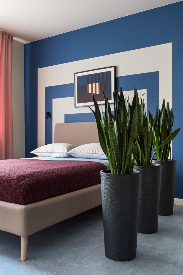 Фото №2 - Акцентная стена в спальне: 6 идей оформления