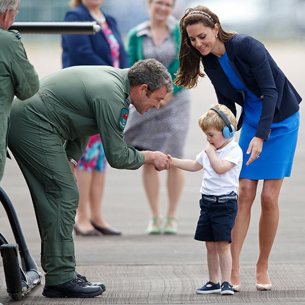 Фото №50 - Принц Джордж Кембриджский: три года в фотографиях