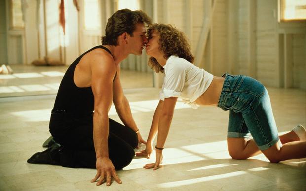 Кадр из фильма «Грязные танцы», 1987