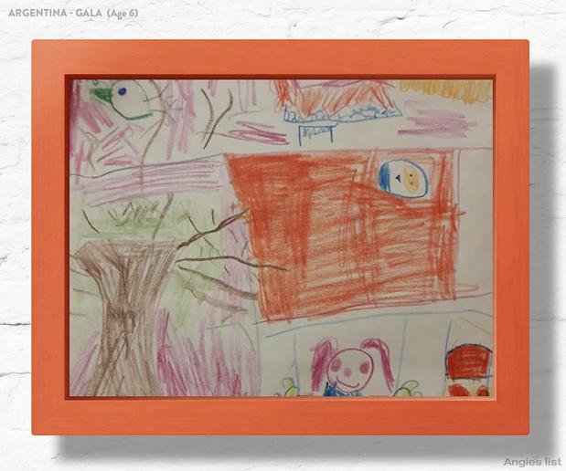 Фото №9 - Комната-мечта: 7 детских, созданных по рисункам малышей