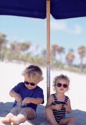 Фото №1 - На пляже - малыши!