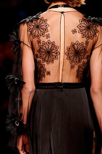 Фото №25 - Fashion director notes: акценты и детали в показе Fendi в Милане