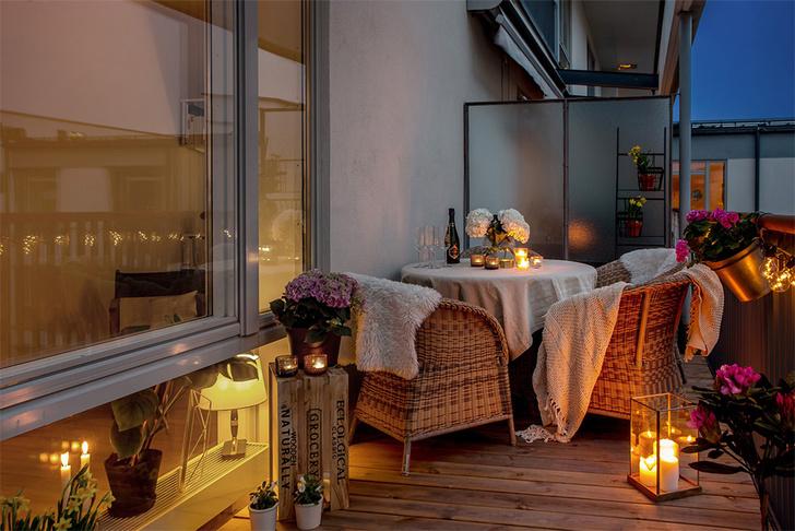 Фото №8 - 8 способов сделать балкон уютнее