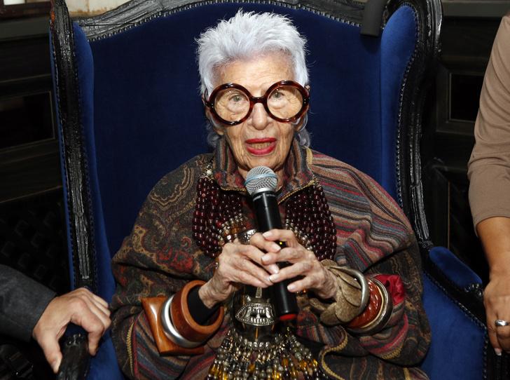 Фото №1 - Айрис Апфель рассказала, как она выбирает свои очки
