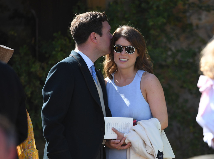 Фото №14 - Меган Маркл и принц Гарри на свадьбе друзей