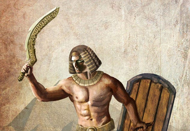 Фото №6 - 7 необычных видов древнего оружия, о которых ты, скорее всего, даже не слышал