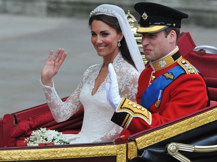 Фото №1 - Протест или протокол: почему Кейт не надела тиару Дианы на свою свадьбу