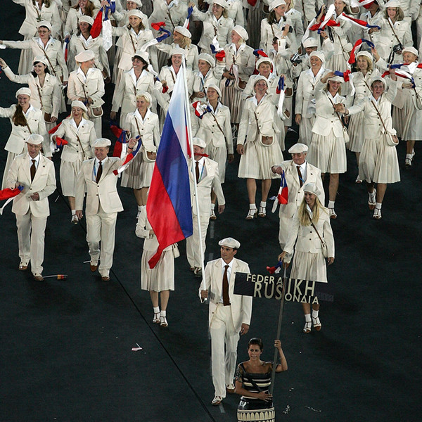 Фото №14 - 10 самых удачных примеров олимпийской формы из истории летних Олимпиад