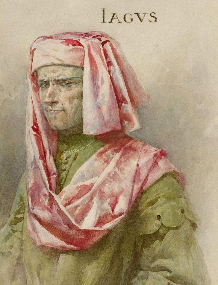 Фото №4 - Тайна платка с узором из земляники: так ли проста история любви и предательства Отелло