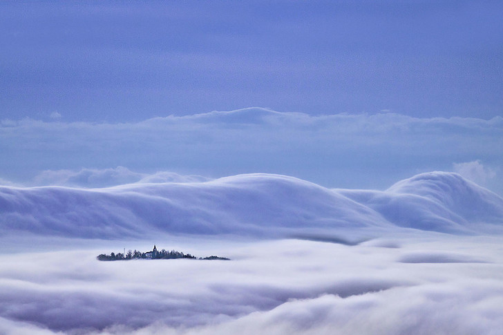 Фото №1 - Деревня в тумане