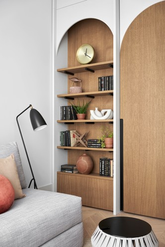 Фото №3 - Квартира в этническом стиле для мамы: проект студии Zeworkroom