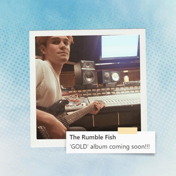 Фото №1 - Hot News! Кей Джей Апа и его группа The Rumble Fish скоро выпустят первый альбом 🥳