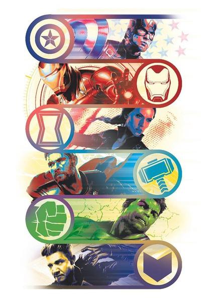 Фото №13 - Новые промо-арты к «Мстителям: Финал»: обновленный Клинт Бартон, Танос, перчатка и многое другое